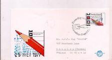 1977-Fdc-Netherlands-Twee de Kamer Der Staten-Generaal.