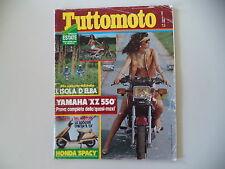 TUTTOMOTO 8/1982 YAMAHA XZ 550/ZUNDAPP KS 80/BMW R 100 RS/HONDA CX 500 TURBO