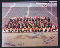 Michigan Wolverines Football Autographed Multi Signed 8x10 Color Photo 5 Sigs