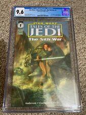 Star Wars: Tales of the Jedi - The Sith War #4 CGC 9.6 (LOW POP)