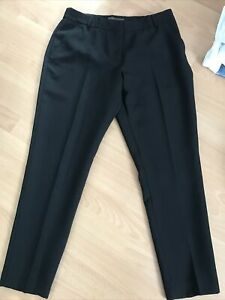 PRIMARK WOMENS BLACK TROUSERS SIZE 12