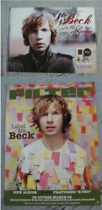 BECK Album poster lot of 2 GUERO-FILTER original record store promo 2005