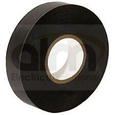 PVC ruban isolants électriques adhesive19mm x 33m Noir Haute Qualité X 5