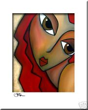 SENSUAL - CONTEMPORARY POP ART Abstract MODERN print FIDOSTUDIO