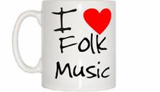 I Love Corazón Música Folclórica Taza