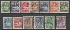 SIERRA LEONE SG155/67 1932 DEFINTIVE SET USED