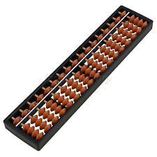ABS Plastic Abacus Arithmetic Soroban Kid's Calculating Tool 17 Digits