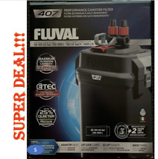 Fluval 407 Perfomance Canister Filter NEW  DAMAGE BOX