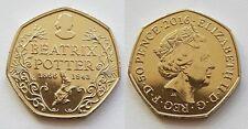 Great Britain Uk 50 Pence 50p Commemorative Coin 2016 150 Yrs Beatrix Potter Unc