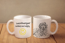 "Leonberger - ein Becher ""Makes me happy"" Subli Dog, DE"