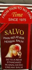 Salvo Herbal Headache & Migraine Pain Reliver Balm Brand New Sealed US Seller