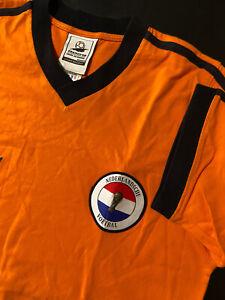 Vintage Adidas 1998 France Fifa World Cup Netherlands Jersey Large T-Shirt