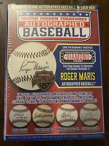 NEW TRISTAR HIDDEN TREASURES AUTOGRAPHED BASEBALL BALL SERIES 12 MLB BLIND BOX