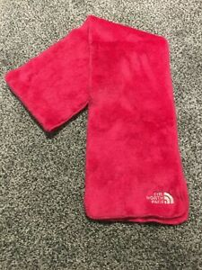 The North Face Soft Plush Fleece Scarf Pink Preowned