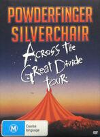 POWDERFINGER SILVERCHAIR Across The Great Divide Tour 3DVD BRAND NEW PAL R0