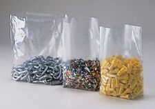 200 10x8x24 Clear GUSSETED Open Top Poly Bags 10 x 8 x 24 LDPE 1 Mil