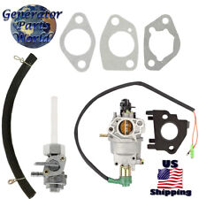 Generac Carburetor w/ Solenoid & Petcock for GP5500 5945 5975 Gasoline Generator