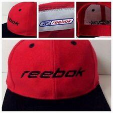 Vintage REEBOK Logo Ad Promo Hat Logo 7 Adjustable Strap OSFA Unworn Display