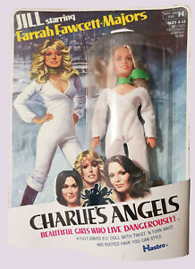 1977 Charlie's Angels Jill Farrah Fawcett-Majors Hasbro Doll jointed 21cm New