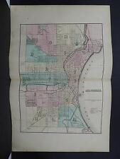 Wisconsin, 1876 County Map, City of Milwaukee M11#31
