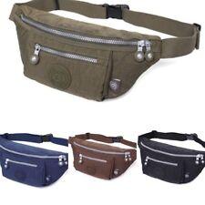 Unisex Belt Bag Men Women Money Mobile Waterproof Waist Fanny Pack Pouch Purse