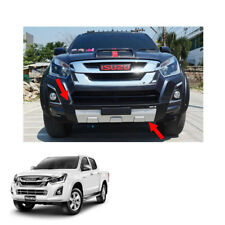 Front Bumper Guard Cover Black Silver 1Pc For Isuzu D-max Holden Rodeo 2016 - 17