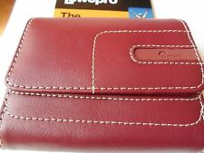 lowepro portofino 20  camera case red leather brand new , great item