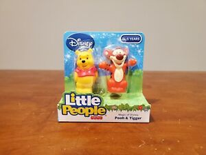 Fisher Price Little People Winnie the Pooh and Tigger Toy Figure CGL96 NEW 2015