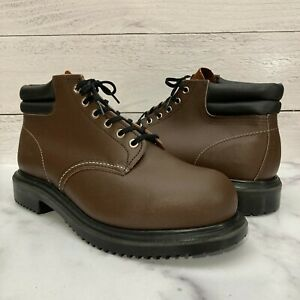 """Red Wing 8215 Heritage Safety Toe 6"""" Boots Men's Size 10 Water Proof Brown"""