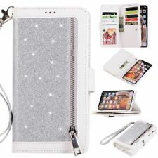 Wallet case for iPhone X XS MAX XR 7 8 6 s plus Leather Phone bag Diamond Cover