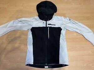 Adidas Goretex Jacke / Weiß / Schwarz / Größe 52