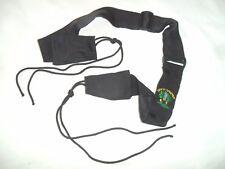 Israeli Army Idf Zahal GOLANI Sling. Adjustable,Black. HEAVY DUTY METAL Catchers