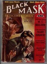 "Black Mask Nov 1939 WT Ballard ""Scars of Murder""; Frank Gruber"