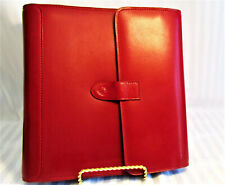Rare Nr Mint Franklin Covey Tri Fold Leather Classic Planner Lg Phone Pocket