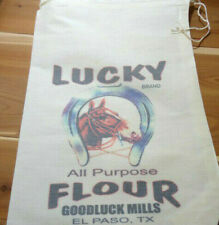 RL-34 LUCKY Flour Bag Sack Feed Seed  Novelty Collectible