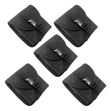 5pcs Spare Scuba Dive Weight Belt Pocket Pouch with Buckle