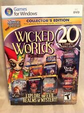 Wicked Worlds Collection: Collector's Edition (PC, 2013) Windows Video Game! C74