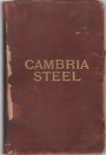 CAMBRIA STEEL: A HANDBOOK OF INFORMATION RELATING TO STRUCTURAL STEEL  1914