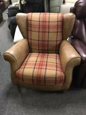 STUNNING Alexandra James Tweed Wing Armchair