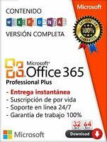 Office 365 Suscripción de Por Vida Profesional por 5 Win / Mac OneDrive De 5 TB