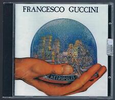 FRANCESCO GUCCINI METROPOLIS  CD F.C. SIGILLATO!!!