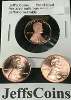 2019-D Uncirculated Lincoln Shield Cent Penny 3 Rolls 150 Coins