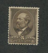 1882 Stamps #205 Mint Lightly hinged VF appearing OG hinged, cert