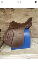 Synthetic Saddle - 17 Inch, Medium/wide, Brown, GP