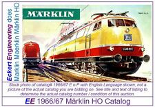 EE 1966/67 E US $ VG Marklin HO Catalog 1966 1967 Picture of 3053 TEE VeryGood