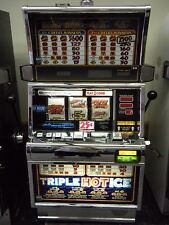 "IGT S2000 ""TRIPLE HOT ICE"" SLOT MACHINES (COINLESS) TICKET PRINTER"