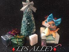 🌹AUTHENTIC LPS🌹 Littlest Pet Shop #58 BROWN WHITE COLLIE BLUE EYES ~SAGE~IPAD