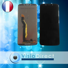"""Ecran complet Vitre tactile + LCD pour Motorola Moto E5 5.7"""" NOIR"""