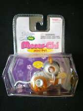 ROBO-CHI PETS MEOW-CHI MINI PET ORANGE WIND UP TOY #59740 (NEW IN BOX) MINI PET