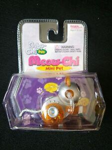 ROBO-CHI PETS MEOW-CHI MINI PET ORANGE WIND UP TOY #59740 (NEW IN BOX) MINI PET